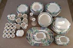 Villeroy boch - Pasadena | FINN.no Fine Porcelain, Plates, Tableware, Licence Plates, Dishes, Dinnerware, Griddles, Tablewares, Dish