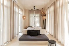 Nest Hotel - Tulum, Mexico Romantic hotel bedroom in boutique hotel in Mexico Tulum Beach Hotels, Nest Hotel, Jungle Room, Hotel Interiors, Tropical Houses, Decoration, Interior Inspiration, Room Decor, Bedroom