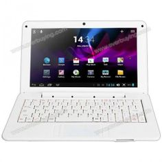 988 Android 4.2 Netbook with 9.0 inch WVGA WM8880 Dual Core 1.5GHz 1GB 4GB WIFI Camera $86.99