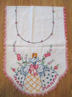Suit Me to a TEA Retro Vintage Valentine 1950/'s Needlecraft Cross-Stitch Pattern