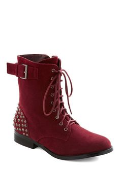 Modcloth Gimme a Rivet Boot. I would love so much