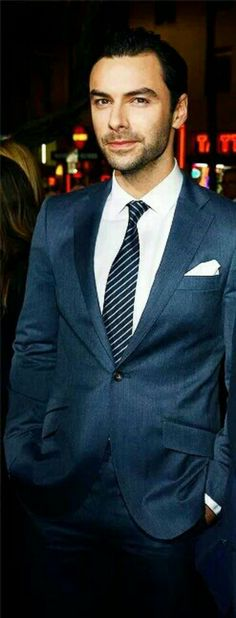 lovely suit! and lovely man inside, too!