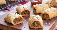 Pork and Chorizo Sausage Rolls