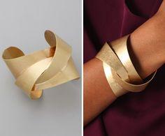 Gold bracelet @vanessacorrea