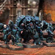 Necromunda Gangs, Warhammer 40k Miniatures, Geek Crafts, Warhammer 40000, Toy Soldiers, Geek Stuff, Van, Hobby Ideas, Instagram Posts