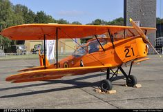Stampe and Vertongen SV-4B OO-SVG 1163 Kleine Brogel Air Base - EBBL