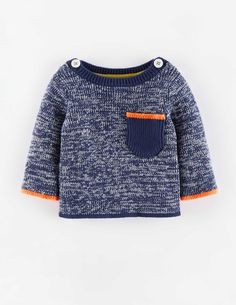Nautical Twist Knit Sweater 71434 Sweaters at Boden