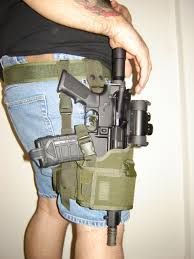 AR-15 Pistol. Such a sight would not be uncommon, as there are few gun regulations outside of New Rome. After 9/11, gun laws were reconsidered, but they are still very lax compared to most other western countries.