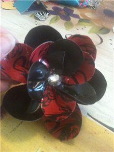 Duck tape flower tutorial