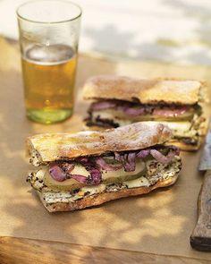 Grilled Chicken Sandwiches with Mustard Recipe