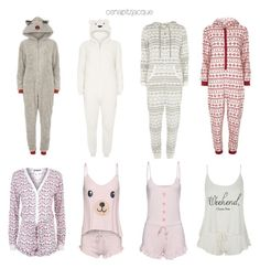 """""""Inspired onesies + pjs"""" by osnapitzjacque ❤ liked on Polyvore featuring Dorothy Perkins, Wildfox, CelebrityStyle and arianagrandestyle"""