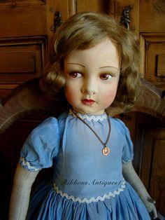 Rare French Lenci Type Raynal Princess