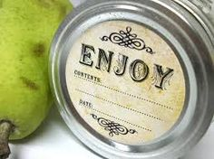 old fashioned canning jar labels - Google Search