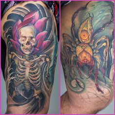 Tattoos by Jeff Gogue