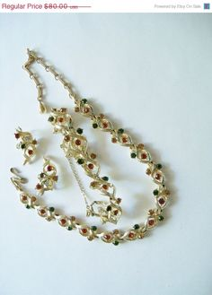 Gifts for Christmas Vintage Jewelry Set Coro by YoursOccasionally, $64.00