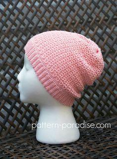 Free Crochet Pattern: Sweet Tea Beanie Hat   Pattern Paradise