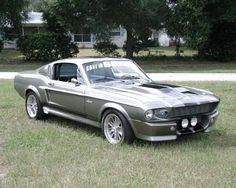 so. i just established a new life goal to be able to buy one of these some day. it's a long shot but i gotta have some goals in life! '67 shelby mustang gt, Eleanor!