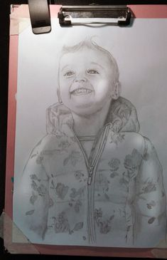 Ritratto bambina su commissione,  matita su foglio A4 Art, Art Background, Kunst, Gcse Art, Art Education Resources, Artworks