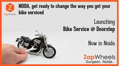 Get Doorstep #bikeservice From Authorized Service Center In #noida