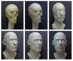 Skeleton / Self-portrait 21