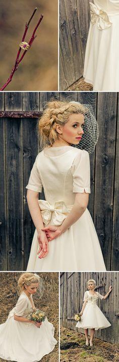 Romantische Hochzeitsdirndl vonDi Lommi bei Sabrina Beerbaum