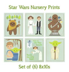 Star Wars Nursery Prints! :D  Wish I would have known about these sooner!