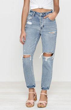 Favorite Blue Mom Jeans