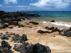 Palauea Beach (AKA White Rock) our wedding beach