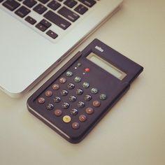 Braun ET66 Calculator Replica