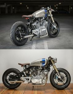 custom yamaha cafe racer