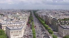 Champs-Élysées by Filippo Labate on Champs Elysees, Paris Skyline, France, Postcards, Travel, Trips, Traveling, French Resources, Tourism