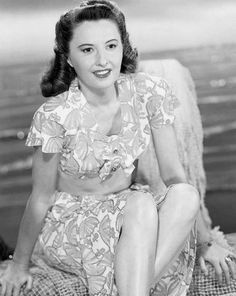 The beautiful, talented, Barbara Stanwyck                              …