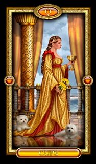 Gilded Tarot Royale - Ciro Marchetti Updated, differently coloured version of the original (which I have) Clear, easy to use.