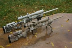 Looking for some pics of Desert Camo rifles