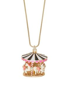 carnival nights carousel large pendant - Kate Spade New York