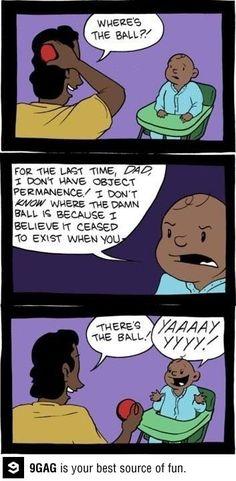 Wheres the ball? Psychology.