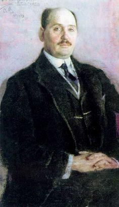 Self-Portrait, 1915 Nikolay Bogdanov-Belsky
