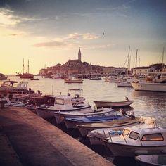 Sail your troubles away in the Adriatic Sea off #Croatia's coast.    Photo of Rovinj by @ 3onthegoblog via Instagram
