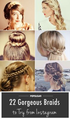 Instagram #braid inspiration, just in time with #SpringBreak!
