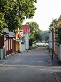 Helene Schjerfbecks gata in Raseborg, Finland