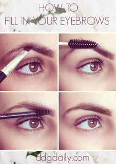 How to fill in your eyebrows #eyebrows #brows #tutorial #tips
