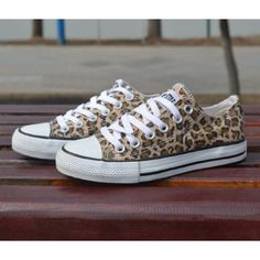 VANS Neon Yellow Leopard Animal Print Shoes