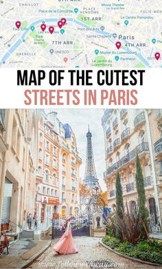 10 Of The Most Charming Streets In Paris + Map To Find Them Places to travel 2019 France travel tips Paris Travel Guide, Europe Travel Tips, European Travel, Traveling Tips, Budget Travel, European Vacation, Euro Travel, Iceland Travel, Greece Travel