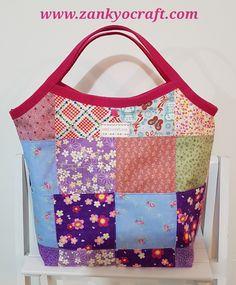 Patchwork Tote Bag by Zankyo Craft