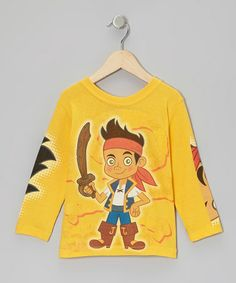 Take a look at this Yellow Jake Look What I Can Do Tee - Toddler by Jake and the Never Land Pirates on #zulily today!