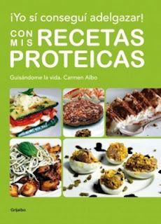 Las recetas de cocina Proteica de Carmen Albo