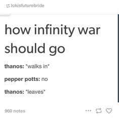I'll pretend that this is what happened. Loki Marvel, Marvel Funny, Marvel Actors, Marvel Comics, Avengers Memes, Marvel Memes, Avengers Infinity War, Marvel Cinematic Universe, Pepper Potts