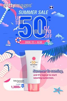 summer event page / banner Event Banner, Web Banner, Summer Banner, Web Design, Cosmetic Design, Promotional Design, Event Page, Newsletter Design, Book Layout