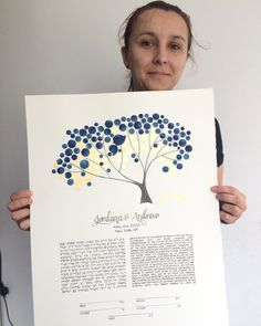 Finished... it's a GOOD feeling!  🌱🌞 GOLD LEAF details on the 17x22inch TREE OF LIFE KETUBAH PAINTING.  All custom requests are welcome at www.OnceUponaPaper.net  #weddingtree #weddingketubah #ketubah #paintedketubah #ketubahtree #jewishwedding #hebrew #treeoflife #watercolortree #watercolorwedding #flowertree #gold #goldleaf #studiolife #atelier #onceuponapaper #worktime #me #happytime #happymoment #ketubahart #ketubahdesign Tree Wedding, Wedding Make Up, Wedding Gifts, Wedding Day, Bouquet Wedding, Wedding Things, Wedding Reception, Watercolor Trees, Watercolor Wedding