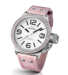 Y ahora para ellas, #reloj @twsteel para señoras...discreto? no...espectacular en rosa:)